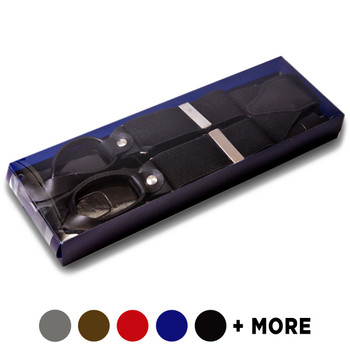 Men's Boxed Button Suspenders BSB3701