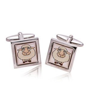 Sheep Novelty Cufflinks NCL3626