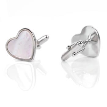 Heart Novelty Cufflink NCL2505