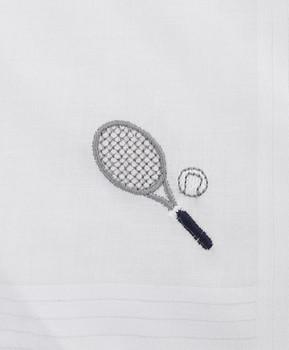 Women's Cotton Handkerchiefs (3-Pack) Tennis Racket WEH2603