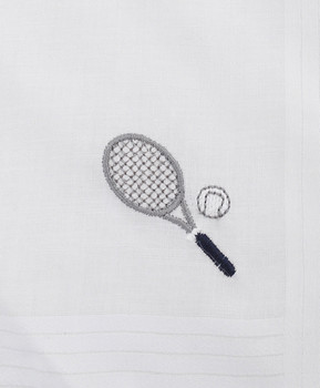 Women's Cotton Handkerchiefs (6-Pack) Tennis Racket WEH5603