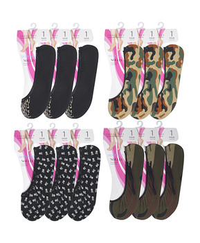 Shoe Liner Mixed 12pc Assorted - SL8019