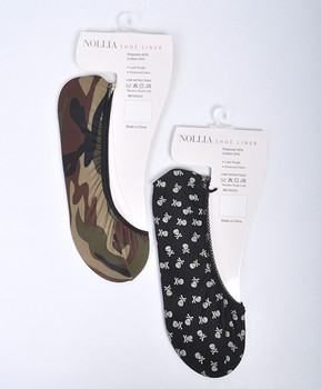 12pc Assorted Shoe Liner Mixed - SL8019