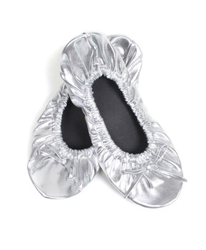 18pairs Pre-pack Assorted Roll Up Ballerina shoes RUS2000