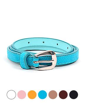 12pc Pack Ladies Skinny Belt CHX4
