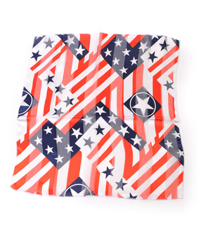 """Texas Flag"" Polyester Neckerchief 12 pc Prepack NK01"