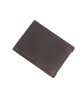 Leather Money Clip MC45BR