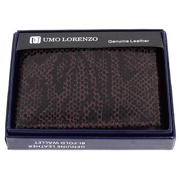 Bi-Fold Genuine Leather Brown Wallet MGLW-A14
