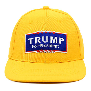 2016 Trump Promotional Solid Blank Embroidery Patch Baseball Cap, Hat