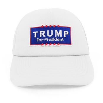 2016 Trump Foam Front Mesh Back Embroidery Patch Trucker Cap, Hat