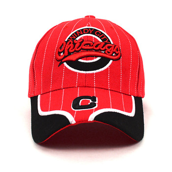 Chicago Windy City Red Baseball Cap EBC10291