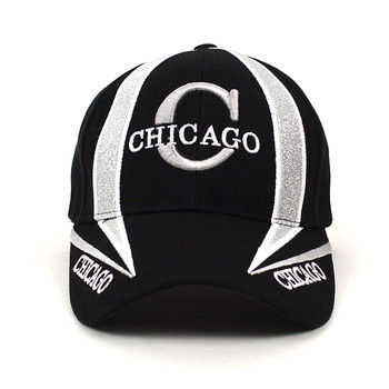 Chicago Black Baseball Cap EBC10299