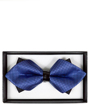 Diamond Tip Banded Bow Tie DBB3030-18