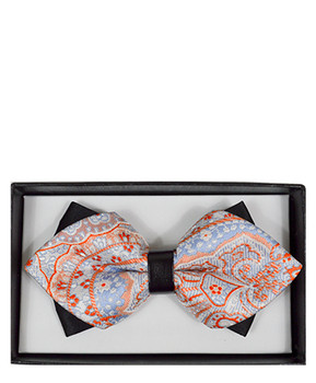 Diamond Tip Banded Bow Tie DBB3030-34
