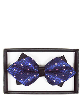 Diamond Tip Banded Bow Tie DBB3030-14