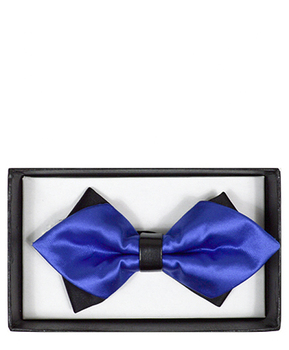 Diamond Tip Banded Bow Tie DBB3030-38