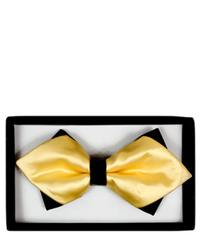 Diamond Tip Banded Bow Tie DBB3030-44