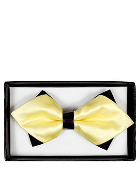 Diamond Tip Banded Bow Tie DBB3030-50