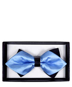 Diamond Tip Banded Bow Tie DBB3030-52