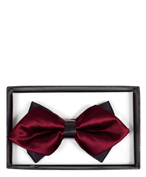 Diamond Tip Banded Bow Tie DBB3030-53