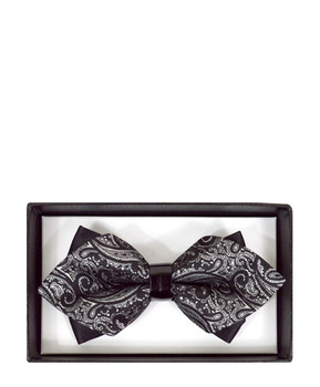 Diamond Tip Banded Bow Tie DBB3030-29