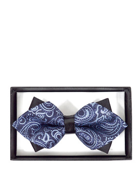 Diamond Tip Banded Bow Tie DBB3030-28