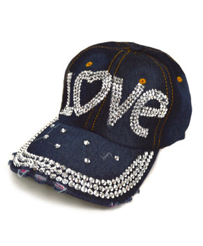 "Bling Studs Cap ""Love"" CP9592"