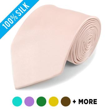 Silk Solid Satin Tie SS1301