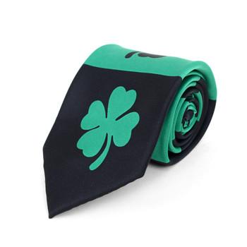 Lucky Shamrock Clovers Green Novelty Tie NV4603