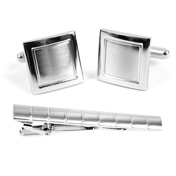 Cufflink and Tie Bar Set CTB681