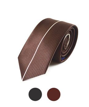 "Microfiber Poly Woven Panel Tie SLIM 2.25"" MPWS5022"