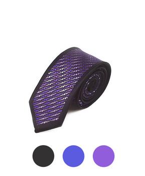 "Microfiber Poly Woven Panel Tie SLIM 2.25"" MPWS5027"