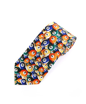 """Pool"" Novelty Tie NV1604"