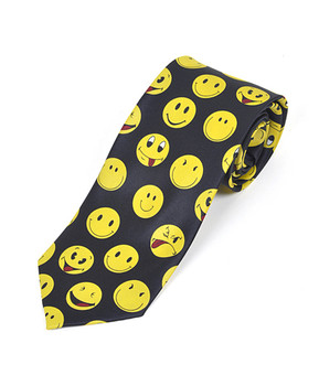 Smiley Faces Novelty Tie NV1313
