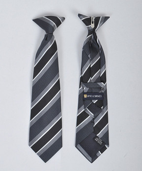 Boy's Microfiber Woven Clip On Tie MPBC2000