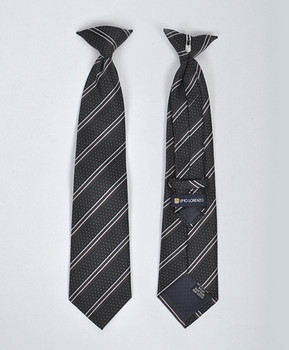 Boy's Microfiber Woven Clip On Tie MPBC2001