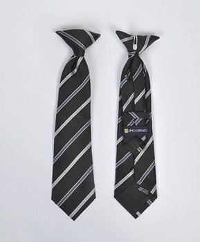 Boy's Microfiber Woven Clip On Tie MPBC2003