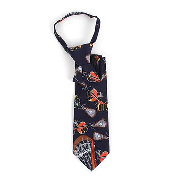 Boy's Lacrosse Novelty Tie BNZ2605