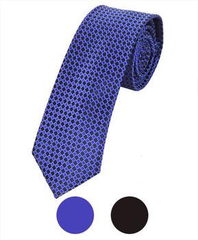 "Microfiber Poly Woven Tie SLIM 2.75"" MPWS5301"