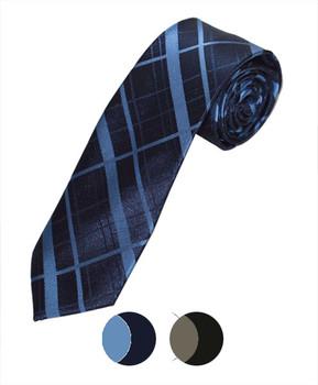 "Microfiber Poly Woven Tie SLIM 2.75"" MPWS5318"
