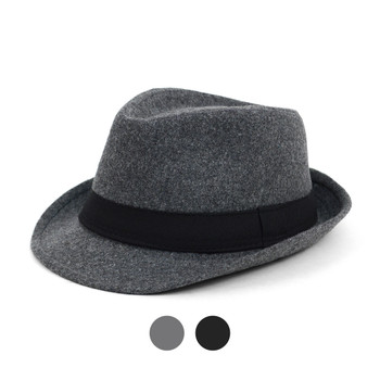 6pc Two Sizes Boy's Fall/Winter Fedora Hats - BF0524