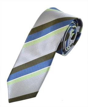 "Microfiber Poly Woven Tie SLIM 2.75"" MPWS5324"