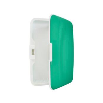 Card Guard Green Silcone Rubber Non-Slip Compact Card Holder CASE003-GN