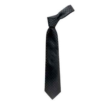 "Boy's 49"" Geometrical Black Fashion Tie"