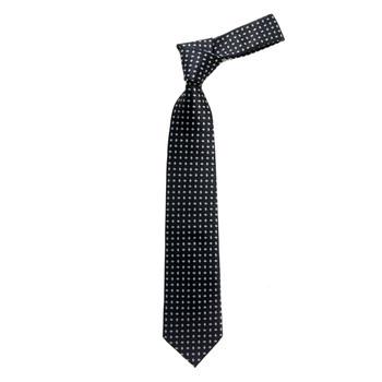 "Boy's 49"" Micro Woven Black Fashion Tie"