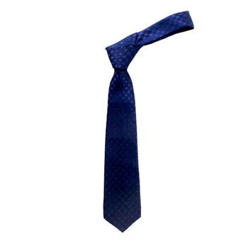 "Boy's 49"" Geometrical Blue Fashion Tie"