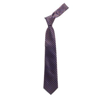 "Boy's 49"" Checkered Brown Fashion Tie"