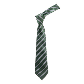 "Boy's 49"" Shadow Stripes Olive Fashion Tie"