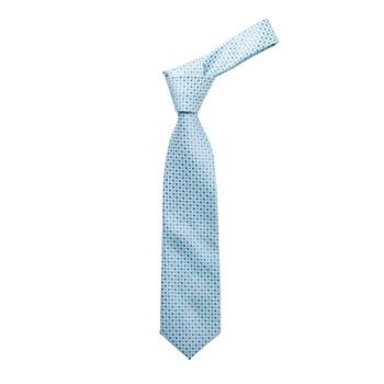 "Boy's 49"" Geometric Turquoise Fashion Tie"