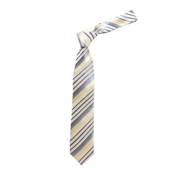 "Boy's 49"" Stripes Yellow Fashion Tie"